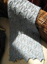 Blue Gentian Scarf