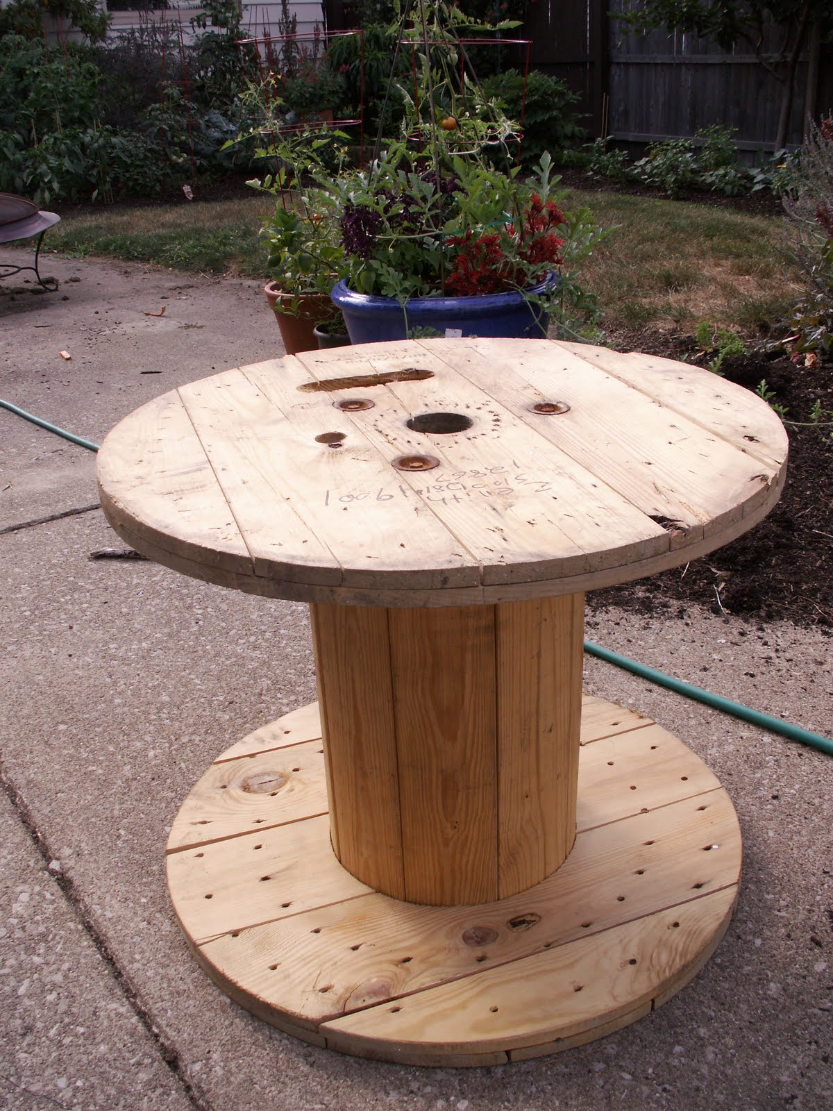 Gallery For gt Wire Spool Table