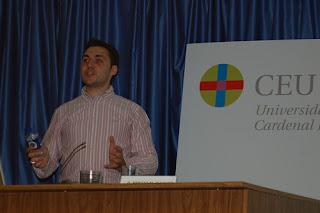 Ismael El-Qudsi en las III Jornadas de Periodismo Digital, en Elche