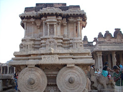 Chariot at Vithala temple