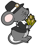 Pilgrim Boy mouse. Get your free MTC file here · Get your free SVG file here