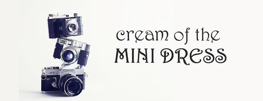 Cream of the mini dress
