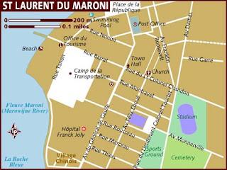 plan de saint laurent du maroni - Image