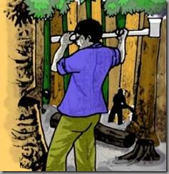 Kisah Si penebang pohon