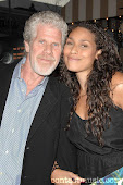 Ron Perlman & His Wife