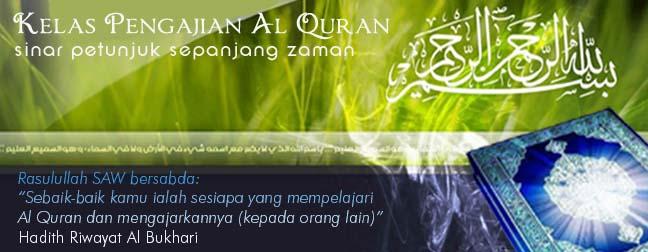 Kelas Pengajian Al Quran