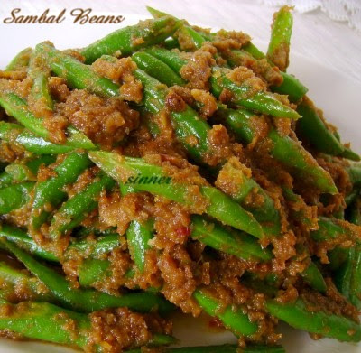 sambal french beans