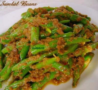 sambal round beans