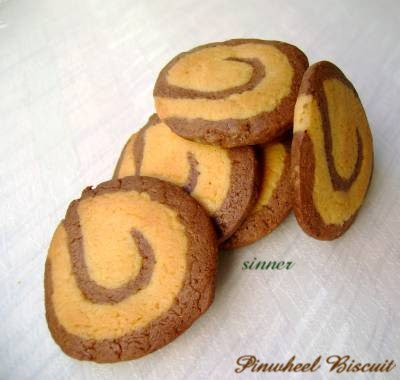 Chocolate Pinwheel Biscuit