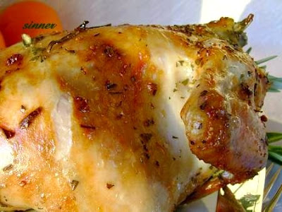 Rosemary Rotisserie Roast Chicken