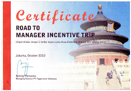 Manager Insentive Trip Beijing