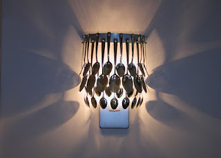 UNIK Sculptural Lighting - Spoon Wall Sconce