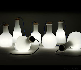 Labware Lamps by Benjamin Hubert