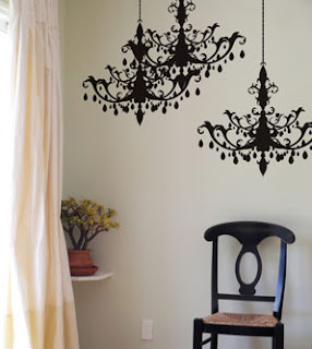 Blik Chandelier Wall Decal