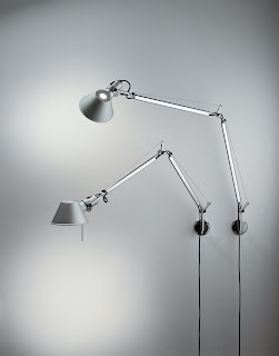 Artemide Tolomeo Classic Swing Arm Wall Light