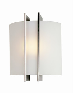 Checks Linear One Light Wall Sconce by Lite Source
