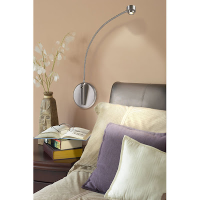 Night Owl Reading Lamp - Canopy Version - Room Installation