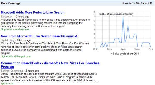 google blog search. Google Blog Search