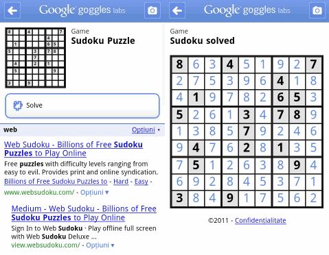Goggles do Sudoku