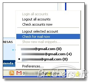 how to forget saved gmail accounts