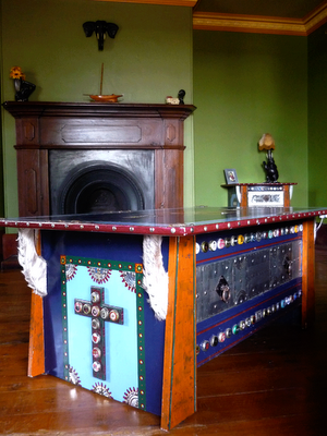 Ona Filloy,Brisbane Designer,Cajun Coffee Table, Cajun furniture,Frida Kahlo, Mexican style coffee table@onafilloy