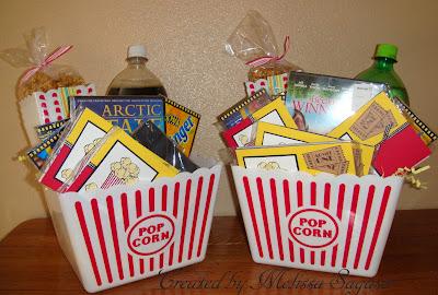 Creative Treasures Movie Night Baskets