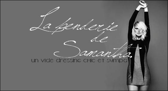 ..Vide dressing de Samantha