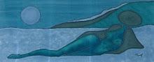 taller de seda, pintado a mano