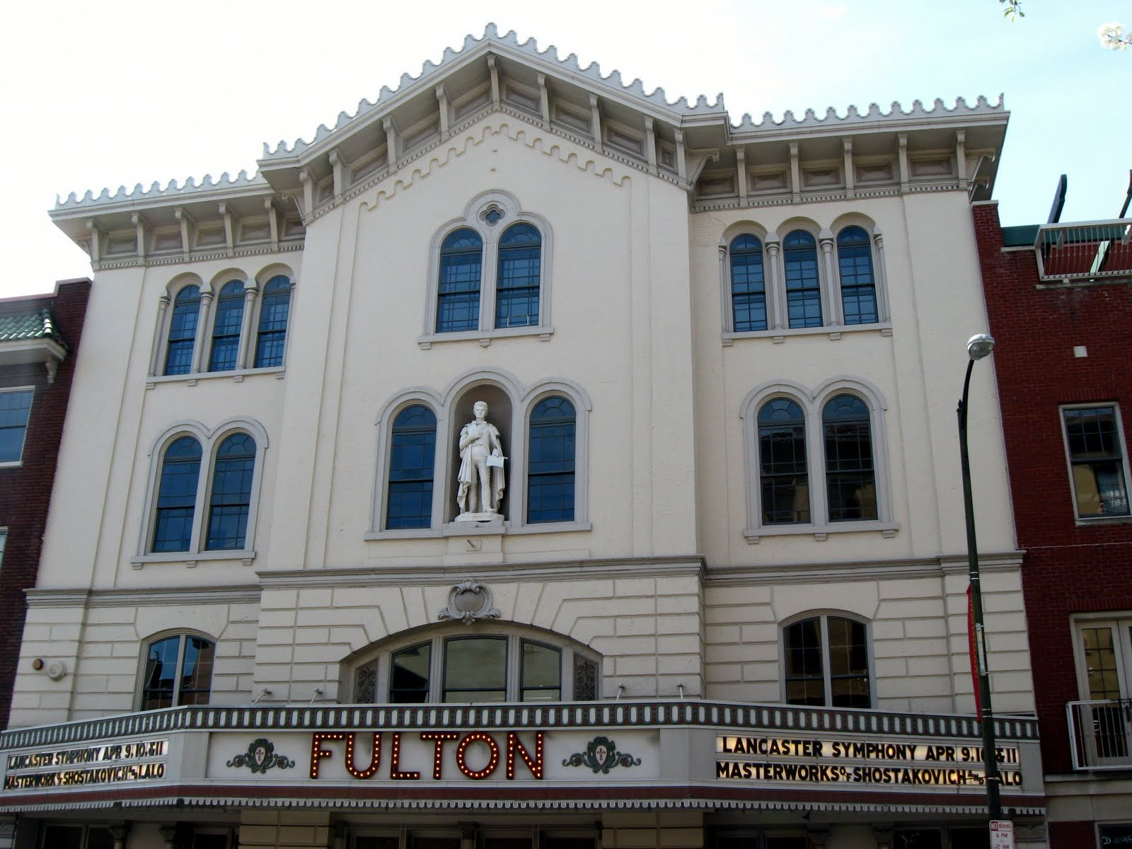 Outta The Way Ghosts At The Fulton Theatre Lancaster Pennsylvania