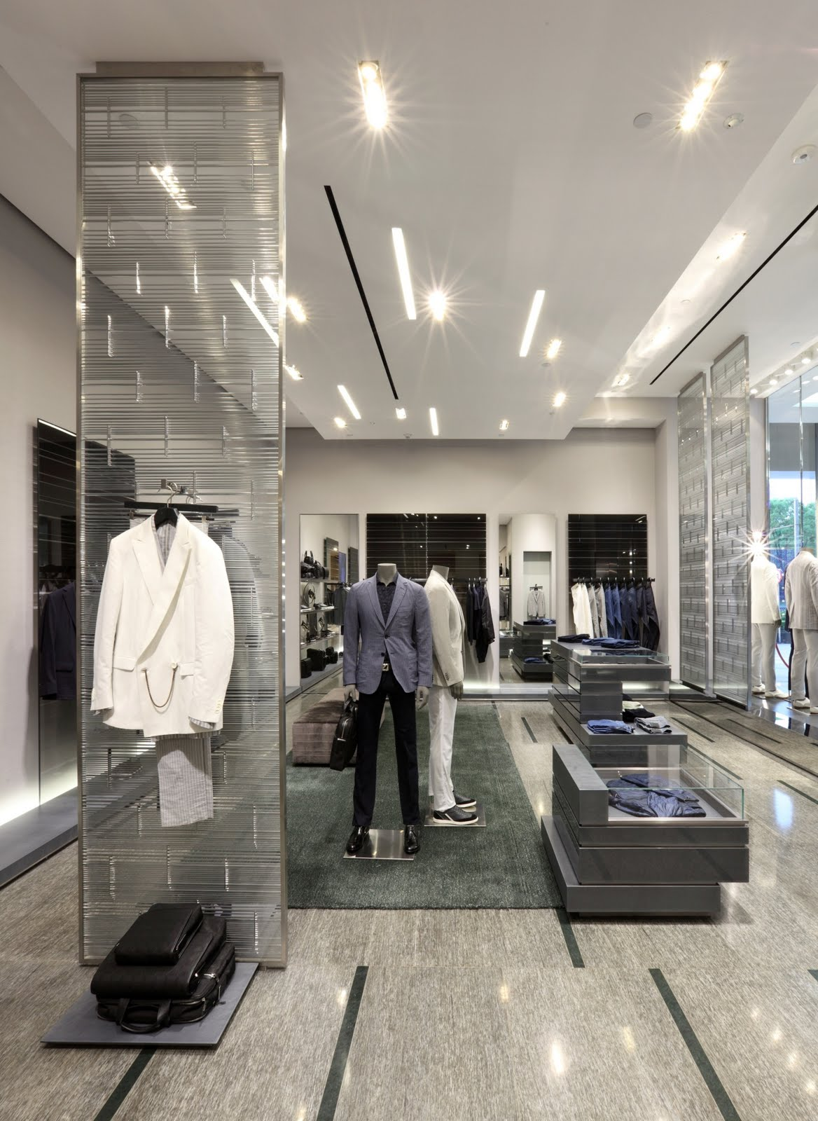 8d4db53abe775 Shoppers Travelers  Ermenegildo Zegna Shanghai Global Store ...