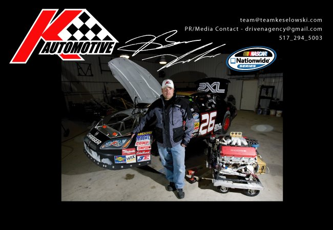 Official Brian Keselowski Racing Blog