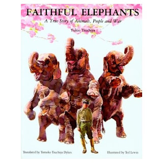 faithful elephants Faithful elephants a story written by yukio tsuchiya and originally published in  japan in 1951, was published and marketed as a true story of the elephants in.