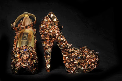 Gasoline Glamour shoes. House of Gasoline glamour. Crazy shoes- true piece of art. Most expensive shoes. Extravagant shoes.