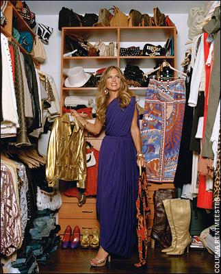Dream closet. Walk in closet. Celebrity closets. Walk in closet ideas. Rachel Zoe closet.