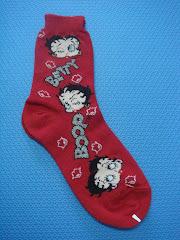Betty Boop Crew Socks