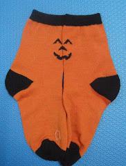 Kid's Halloween Pumpkin Socks