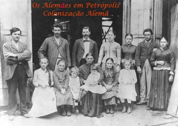 Colonização Alemã em Petrópolis