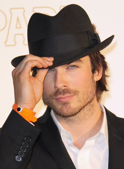The actor plans on launching the Ian Somerhalder Foundation on the day of ...