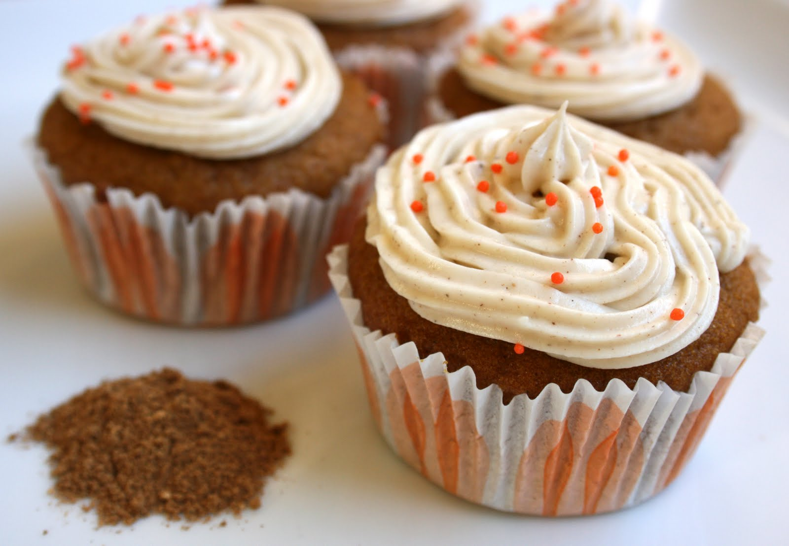 ... Relief Society: Pumpkin Cupcakes with Spiced Cream Cheese Frosting