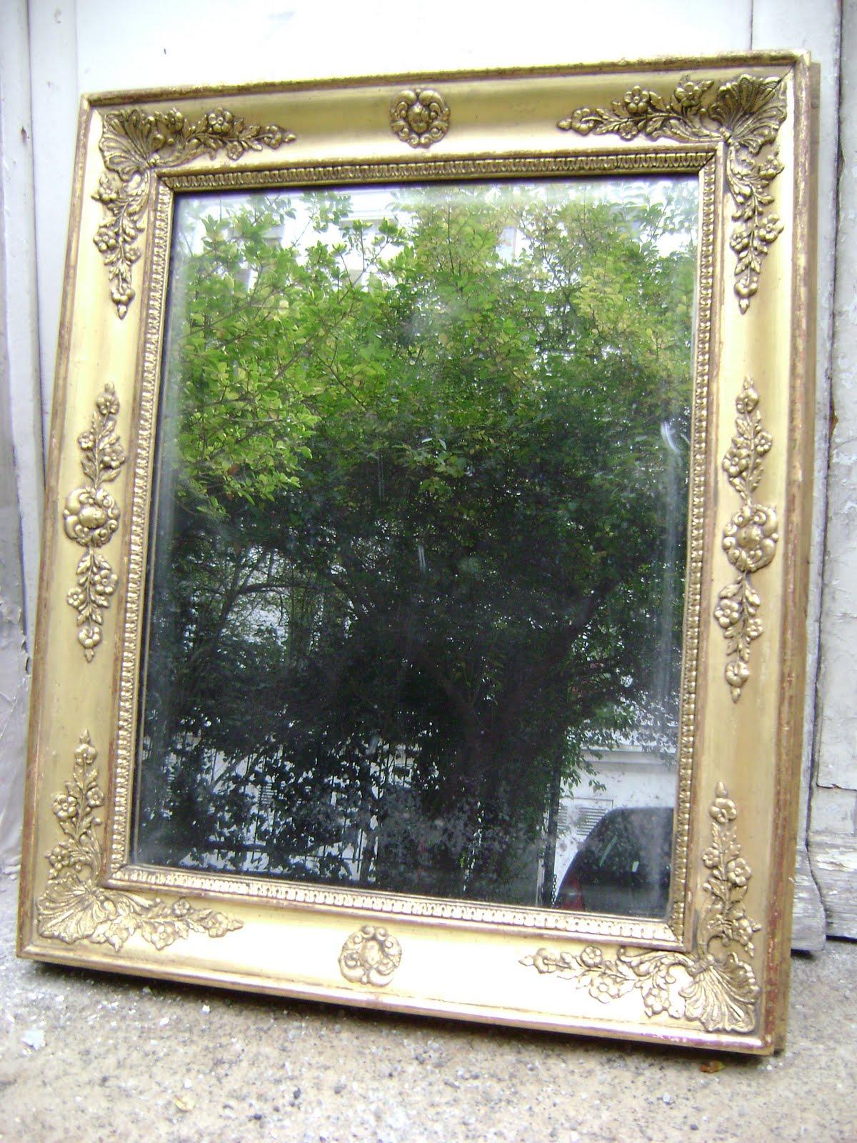 Micha l bollens restauration de bois dor for Restauration miroir