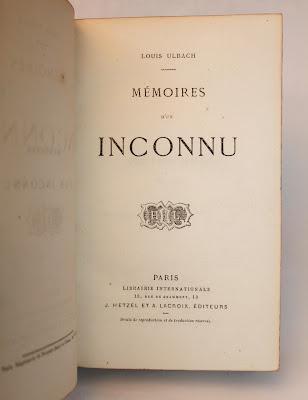ulbach dans Bibliophilie, imprimés anciens, incunables