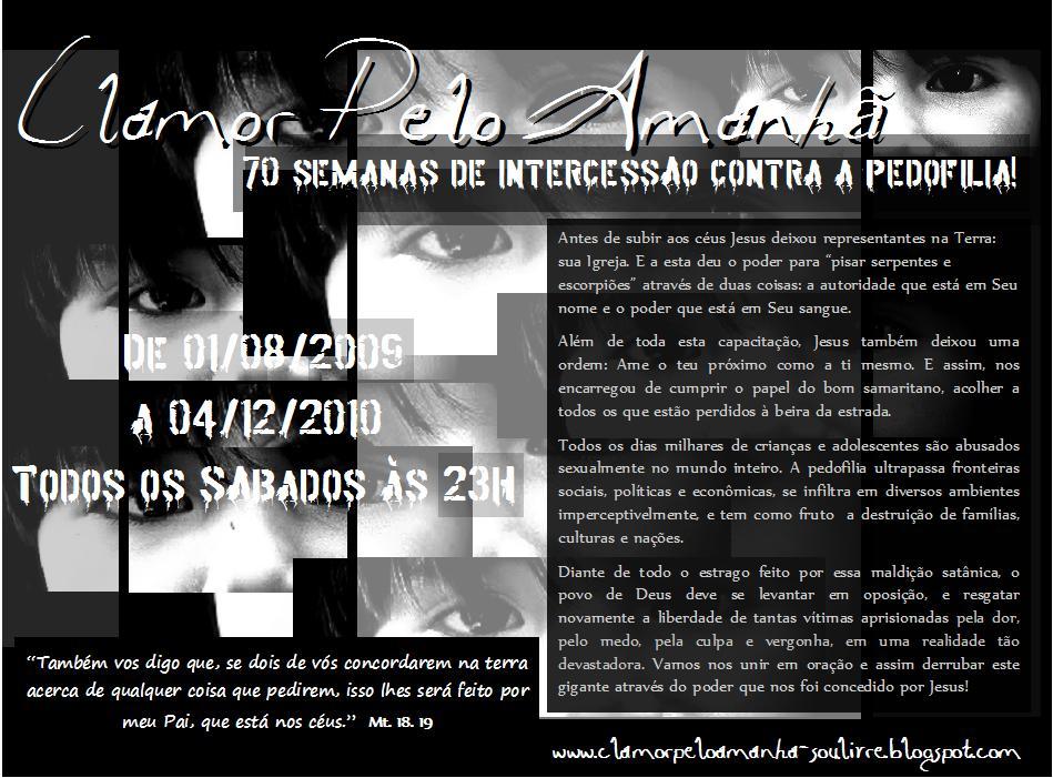 CLAMOR PELO AMANHÃ
