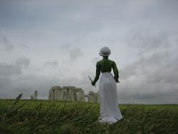 Jane Visting Stonehenge