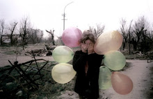 Here it are, colors balloons ; I think of you and let it go♪