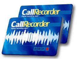 Call Recorder Card