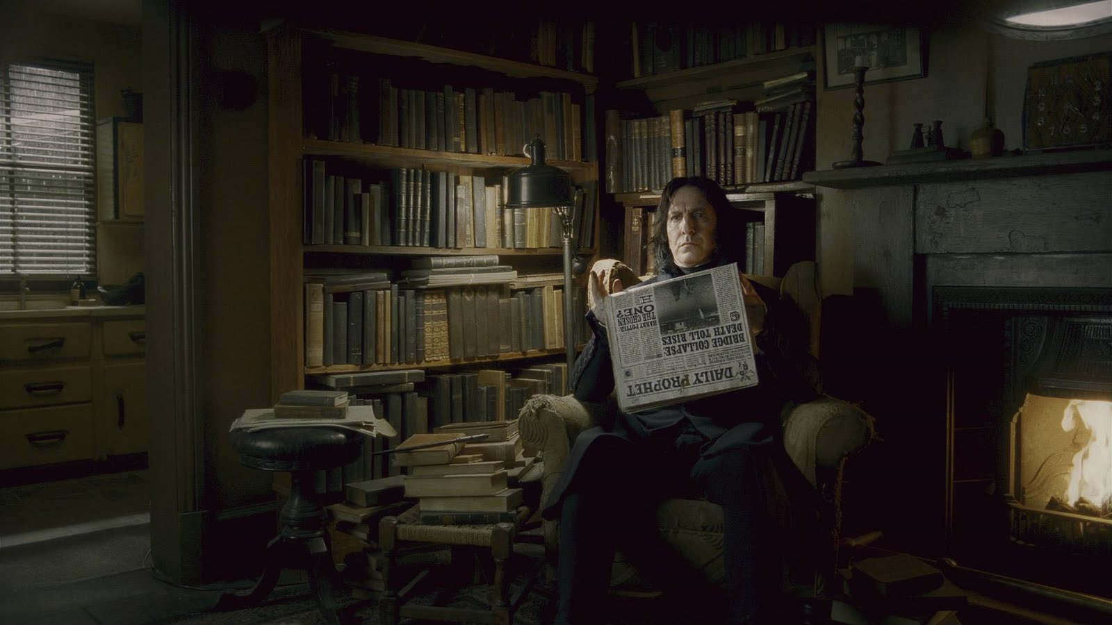 Severus Snape Fans At Home With Snape