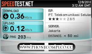 Hack Bandwidth Dan Kecepatan/Speed Telkomsel Flash Unlimited