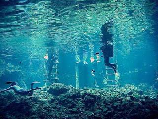 profundidades del lago Samajab