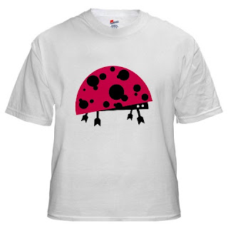tshirt52 vector ladybird+small vector monster   ladybird t shirt