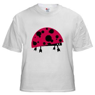 tshirt52 vector ladybird+small vector monster   ladybird t shirt